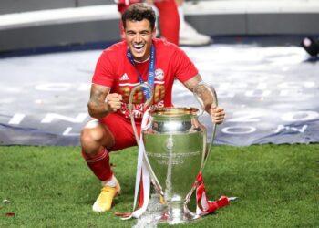 Philippe Coutinho, Liga dos Campeões, Champions League, campeão Bayern, 2019/2020