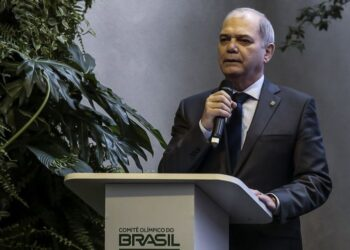 presidente do COB, Paulo Wanderley Teixeira