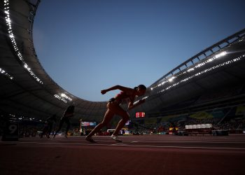 DOHA, QATAR - SEPTEMBER 27: Selina Buchel of Switzerland competes in the Women's 800 metres heats during day one of 17th IAAF World Athletics Championships Doha 2019 at Khalifa International Stadium on September 27, 2019 in Doha, Qatar. (Photo by Christian Petersen/Getty Images)